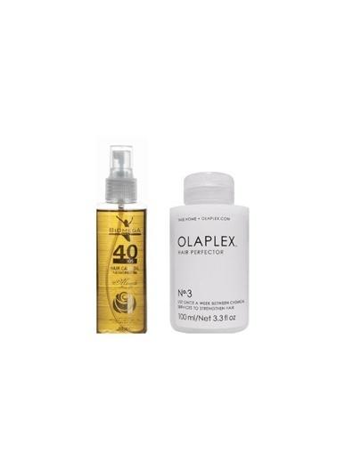 Olaplex Hair Perfector No:3 Saç Bakımı 100 ml+Biomega 40 Bitkili Doğal Saç Bakım Yağı 150 ml Renksiz